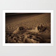 Sandcastles 2 Art Print