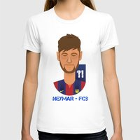 neymar T-shirts featuring Neymar Barcelona by Sport_Designs