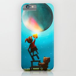 Girl With The Golden Heart iPhone Case