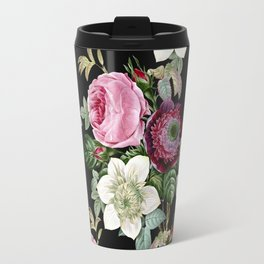 Floral enchant - night Travel Mug