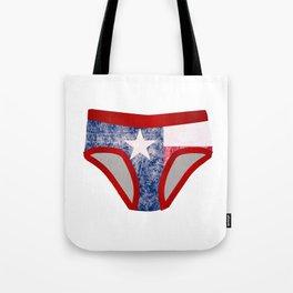 Texas Y Fronts Tote Bag