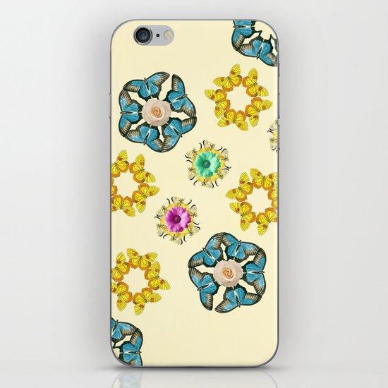 hippie butterfly iPhone & iPod Skin