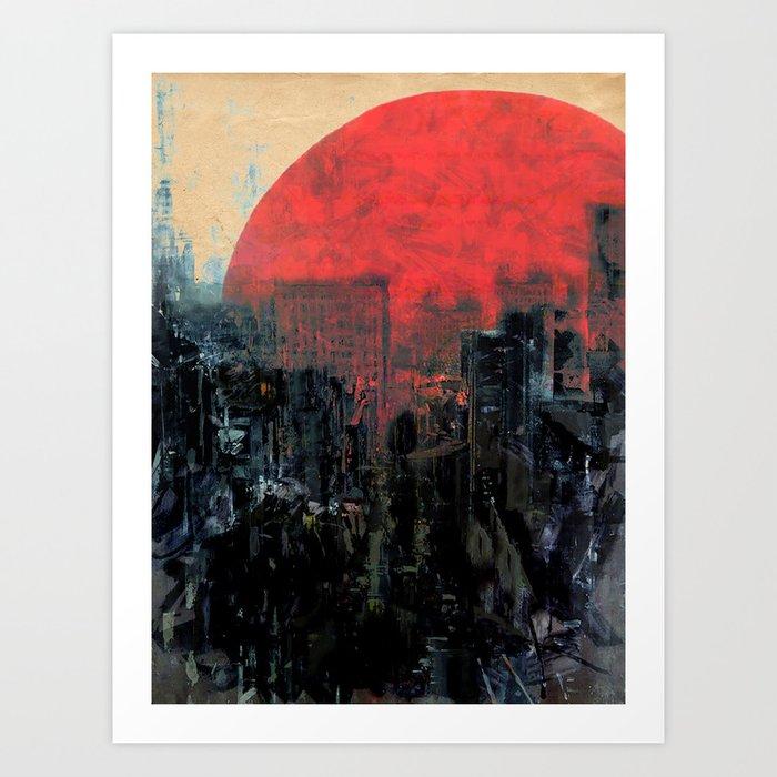 Last Sunshine Art Print