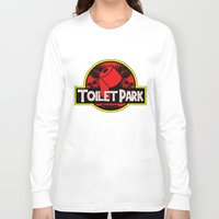 toilet Long Sleeve T-shirts featuring Toilet Park by Toilet Club