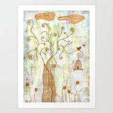 leap for love Art Print