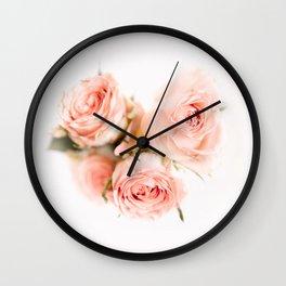 Rose pink lemonade Wall Clock