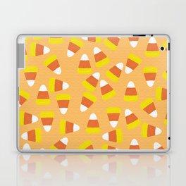 Candy Corn Jumble (light orange background) Laptop & iPad Skin