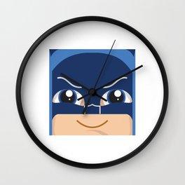 Old School Baby Bat Man Wall Clock