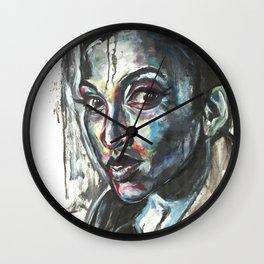 Blue Piece Wall Clock