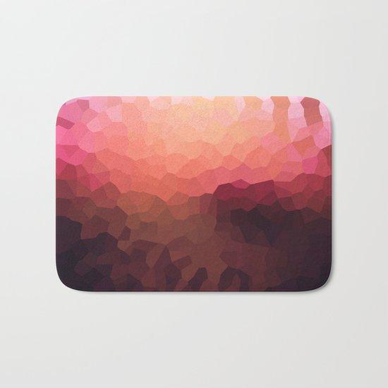 Abstraction. Sunset .  Bath Mat