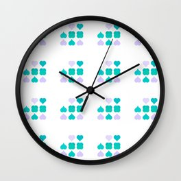Playing the Poker of Love Wall Clock