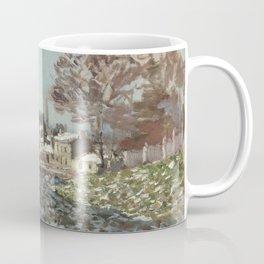 Snow at Argenteuil Coffee Mug