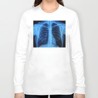 medical Long Sleeve T-shirts featuring x ray medical radiography by tony tudor