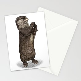 Infatuated Otter Stationery Cards