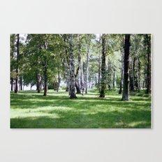 Peterhof Woods Canvas Print