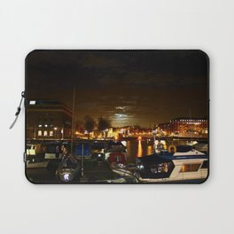 Yellow Moon Laptop Sleeve