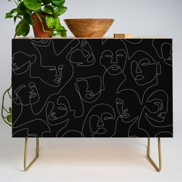 Face Lace Credenza