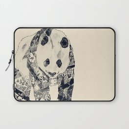 Tattooed Panda {cream} Laptop Sleeve