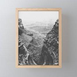 CANYONLANDS / Utah Framed Mini Art Print