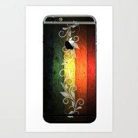 reggae Art Prints featuring Reggae Romantic by Ev@d Art$