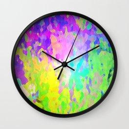 Aquarelle Wall Clock