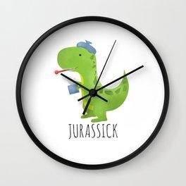 Jurassick Wall Clock