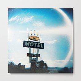Stagecoach 66 Motel Metal Print