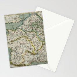 Vintage Map - Ortelius: Theatrum Orbis Terrarum (1606) - Gallia / Ancient France Stationery Cards