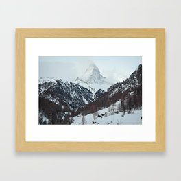 Matterhorn Morning Framed Art Print