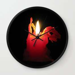 Nearing Burnout Wall Clock