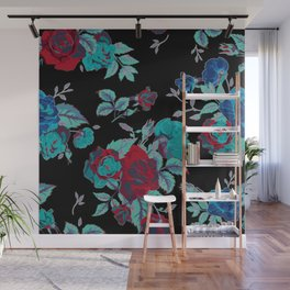 Solar flower pattern Wall Mural