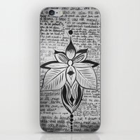 lyrics iPhone & iPod Skins featuring lyrics baby lyrics by Kaitlin Bloom