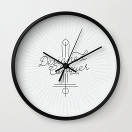 Designed to Conquer Wall Clock