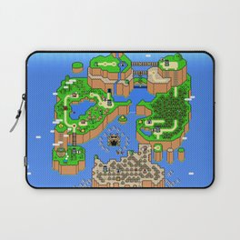 The World of Super Mario Laptop Sleeve