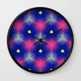 Star system Wall Clock