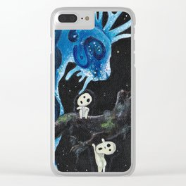 Mononoke Hime Clear iPhone Case