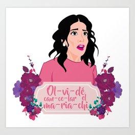 olvide cancelar el mariachi Art Print