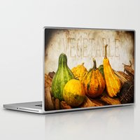 vegetable Laptop & iPad Skins featuring Vegetable II  by Angela Dölling, AD DESIGN Photo + Photo