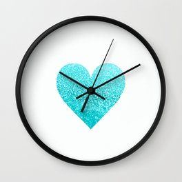AQUA HEART Wall Clock
