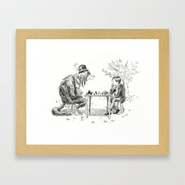 The Game Framed Art Print