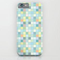 Pastel Squares Slim Case iPhone 6s