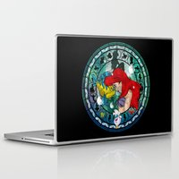 ariel Laptop & iPad Skins featuring Ariel by Mazuki Arts