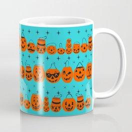 Trick or Treat Smell My Feet- Turquoise Coffee Mug