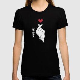 K-pop Finger Heart | Saranghae T-shirt