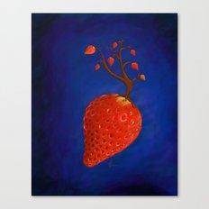 Strawberry Concept Canvas Print