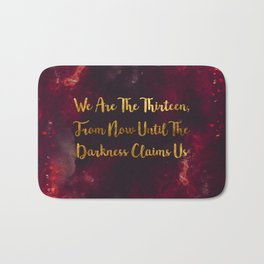 Until The Darkness Claims Us Bath Mat