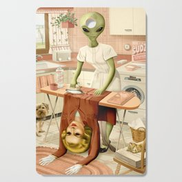 Laundry Day Cutting Board