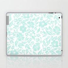 Stamp Floral Pattern Laptop & iPad Skin