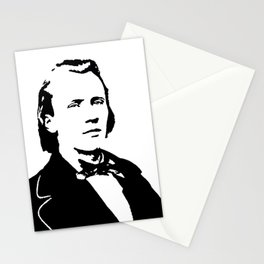 Johannes Brahms (1833 – 1897) in 1853 Stationery Cards