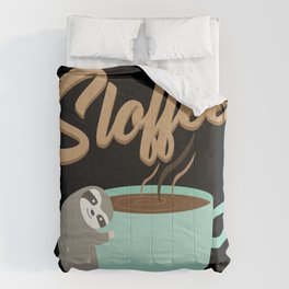 Sloffee | Coffee Sloth Comforters